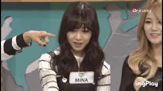 Jimin and Seolhyun once chose Mina as the most annoying member of AOA