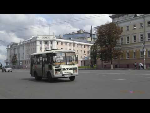 Нижегородский автобус -  Old Buses in Nizhny Novgorod, Russia