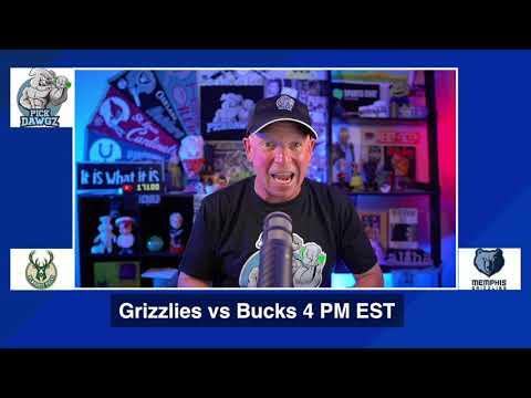 Memphis Grizzlies vs Milwaukee Bucks 8/13/20 Free NBA Pick and Prediction NBA Betting Tips