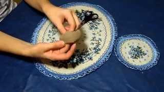 Как сделать пончик для волос своими руками. Инструкция