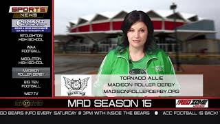 WI57 | The Sports News | Madison Roller Derby | 10-14-18
