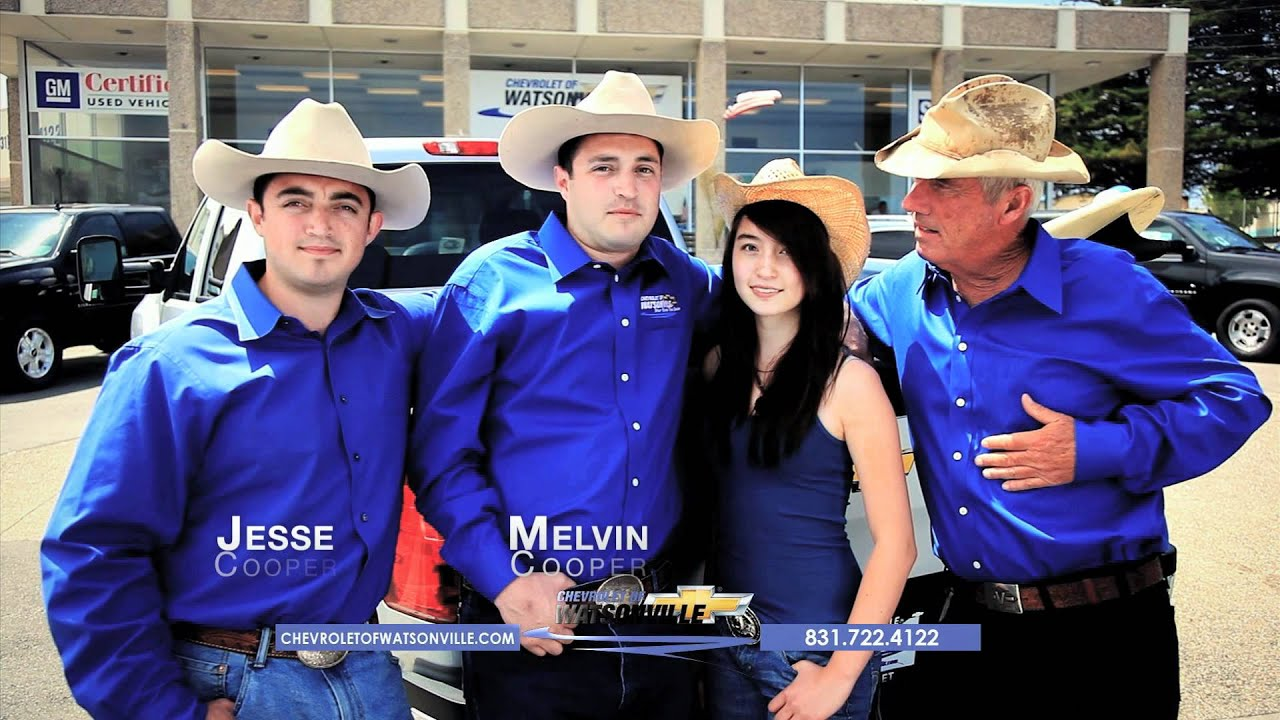 Chevrolet of Watsonville - Family nding - YouTube