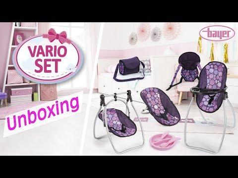 Vario Set - Dolls Accessories Set - Zubehör-Set - Unboxing - Bayer Design