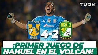 ¡Súper Nahuel! El 'Patón' Guzmán debuta ganando I Tigres 4-2 León CL14 I TUDN