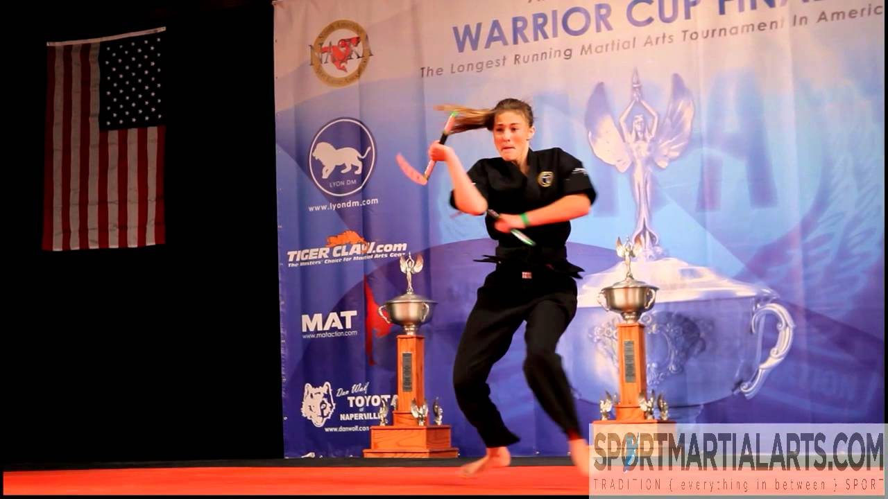 Micayla Johnson - 2013 AKA Grand Nationals - Adult Weapons ...