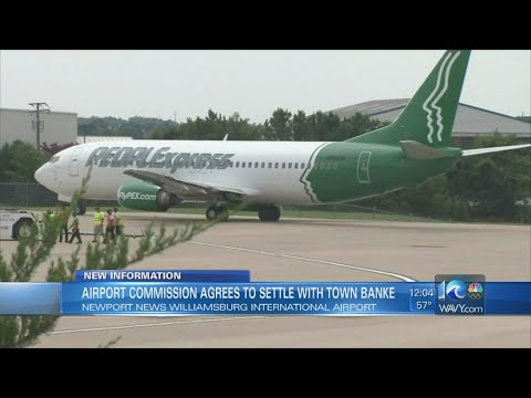 Airport Commission Enters Agreement With Towne Bank To Work On Settlement