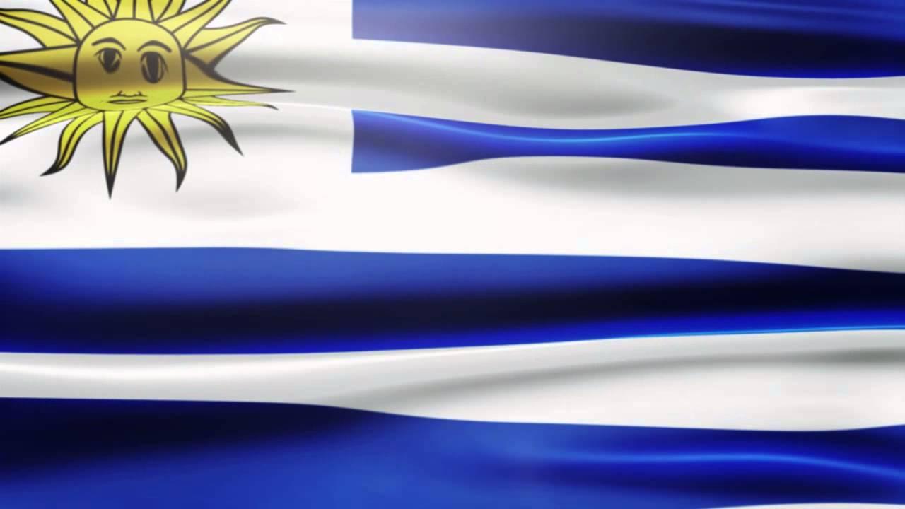Uruguay Flag Moving Footage Hd YouTube - Uruguay flag