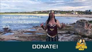 2019 Superhero Walk Launch!