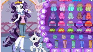 Equestria Girls Rarity - Pony Games - Dress Up Games