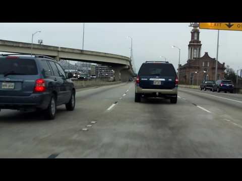 Crescent City Connection Bridge westbound/outbound [ALTERNATE TAKE]