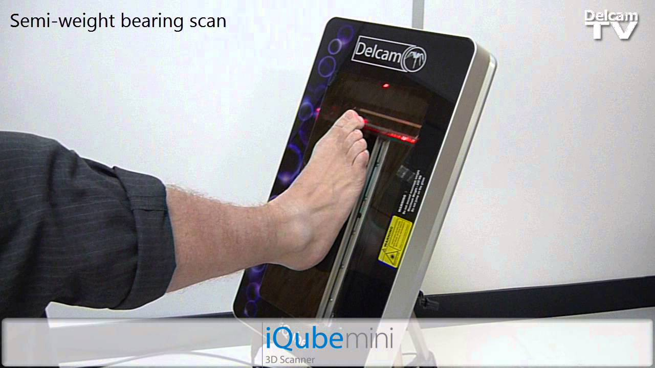 Iqube Mini Orthotic 3d Scanner Youtube
