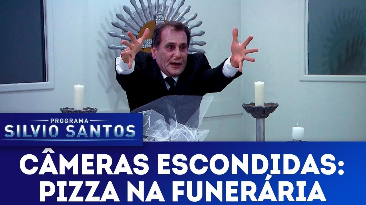 Pizza na Funerária | Câmeras Escondidas (30/09/18) - YouTube