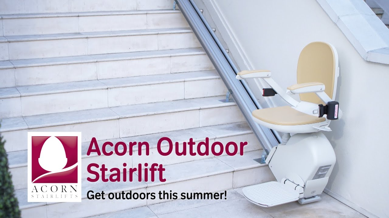 Acorn Outdoor Stairlift  Get outdoors this summer  YouTube