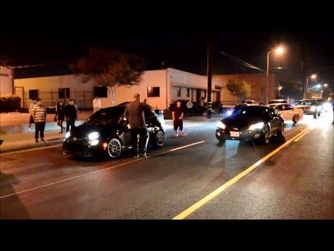 genesis coupe vs fiat 500 turbo