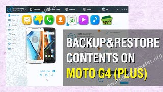 How to Backup & Restore Contents on Moto G4 Plus; G4 Plus Data Backup and Restore