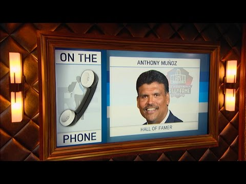 Pro Football Hall of Famer Anthony Munoz Talks Bengals, USC & More - 9/7/16