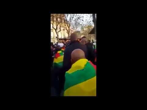 """Togo: Fabre marche à la Bastille (Paris) et répond aux accusations de la Lettre du Continent"""""""