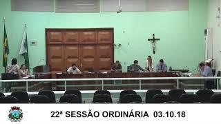 Sessão da Câmara 03.10.18
