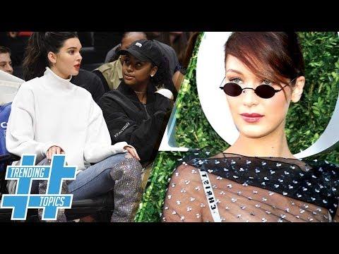 Kendall Jenner's $10,000 Boots! Gigi & Bella Hadid Bring Back Round Sunglasses | HS Trending Topics
