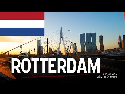 Driving in the Netherlands - Rotterdam May 2019