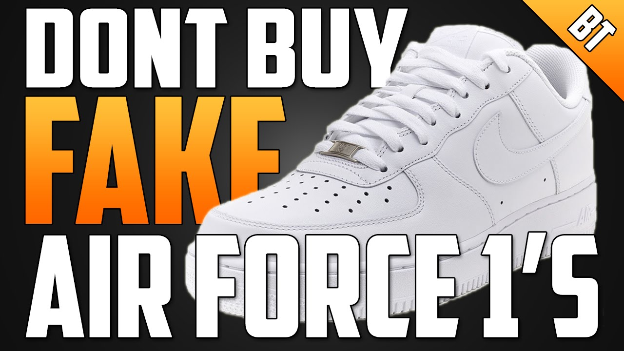 factory price f3169 50c23 WATCH THIS BEFORE YOU BUY FAKE AIR FORCE 1 S