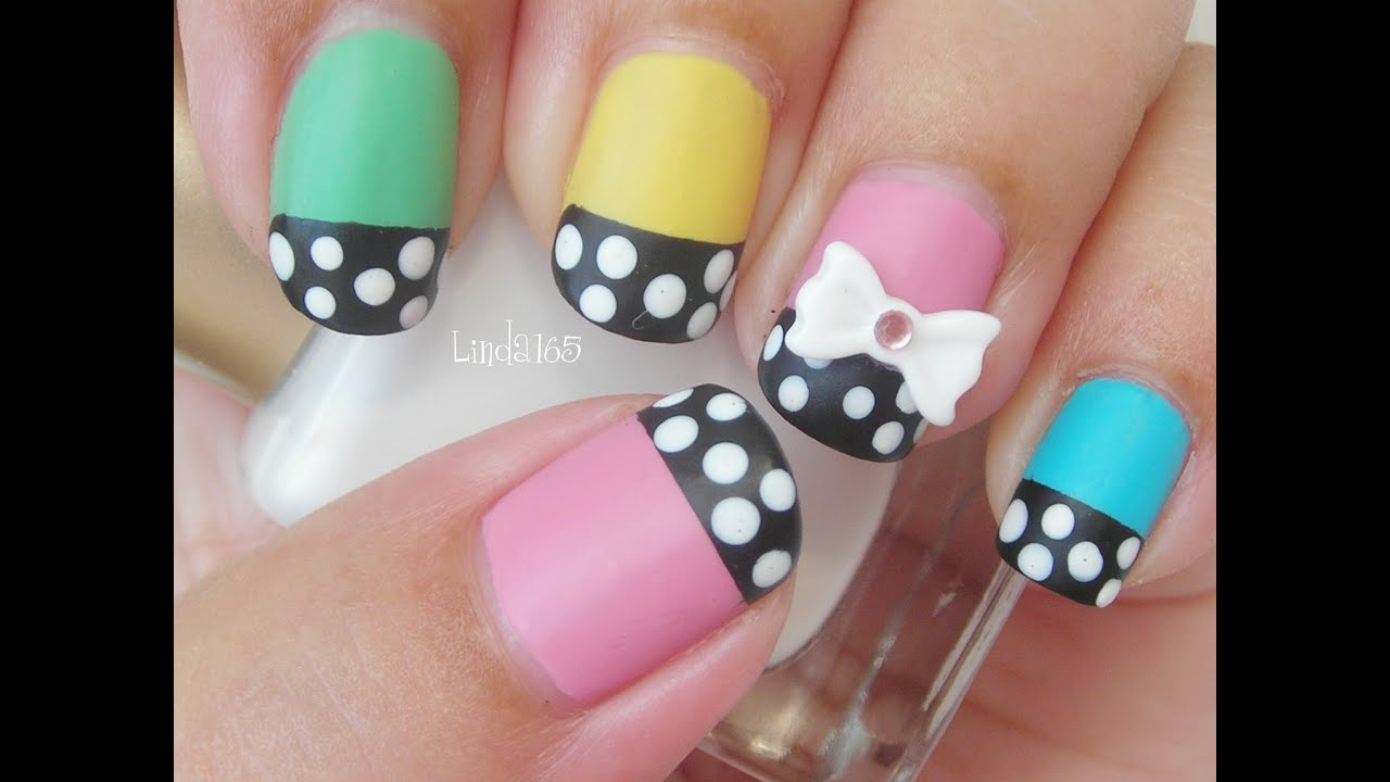 Nail art dolly wink nail polish inspired decoracion de for Decoracion unas