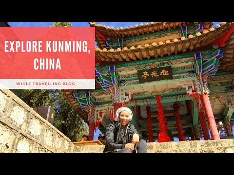Kunming, the capital city of Yunnan Province, China