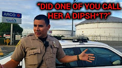 """SOUTH GATE - ARCO TESORO LOGISTICS REFINERY - OFFICER MORALES """"DID ONE OF YOU CALL HER A DIPSH*T?"""""""
