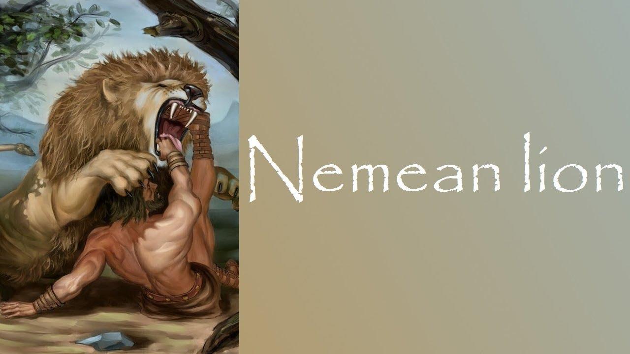 hercules vs nemean lion - 1280×720