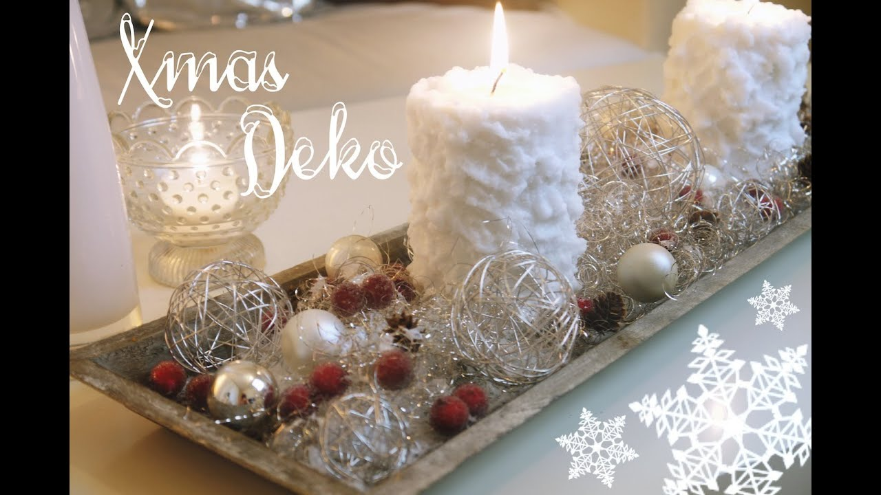 Diy home schnelle weihnachtsdeko youtube for Adventskranz selber machen youtube