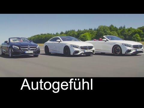 Mercedes S-Class Cabriolet & Coupé Facelift Preview Exterior/Interior with Mercedes-AMG S 63