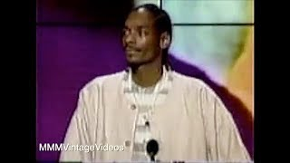Snoop Dogg dedicates Soul Train Award to Tupac! Rare