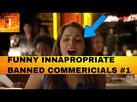 BANNED COMMERCIALS * INAPPROPRIATE * (COMPILATION #1)