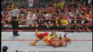 Hulk Hogan & Shawn Michaels vs. Muhammad Hassan & Daivari 3/4