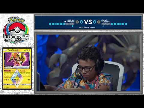 2019 Pokémon World Championships: Pokémon TCG Junior Division Finals