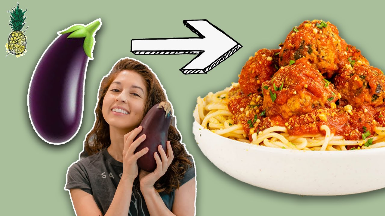 I Tried Making Vegan Meatballs Out of Eggplant