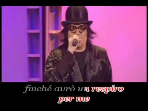 Renato Zero - Vivo (karaoke - fair use)