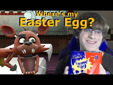 Baby Foxy Healthy Easter? 2018 [FNAF SFM] Animation MiffedCrew Meets the Animatronics
