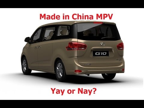 Made in China MPV! Yay or Nay? (Weststar Maxus G10 review)