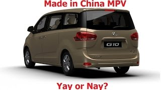 Made in China MPV! Yay or Nay? (Weststar Maxus G10 review)