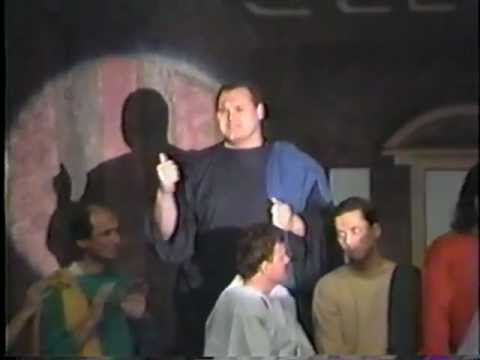 C. Ernst Harth in Living Last Supper play from April 1993
