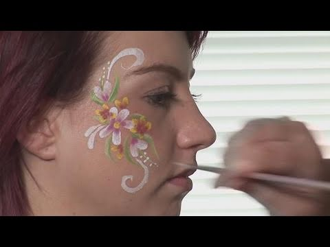 How To Learn Cheek Face Painting