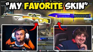 Pros Answer their Favorite Skins in CS:GO