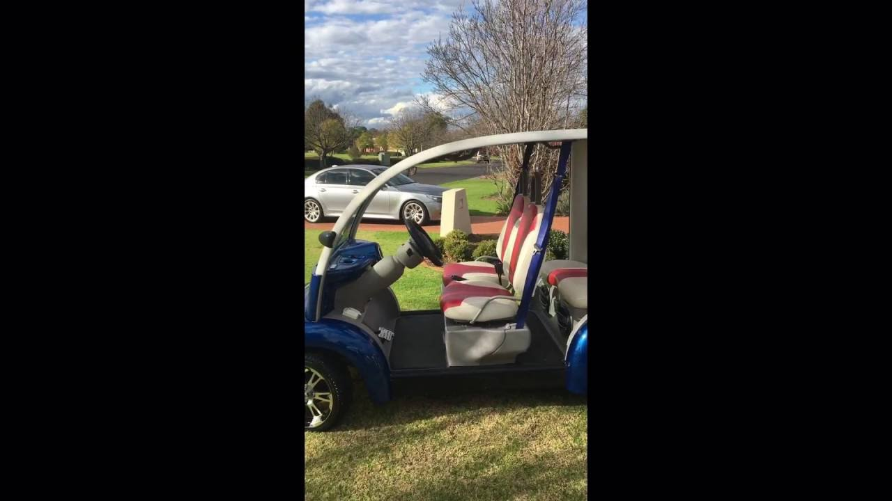 extremely rare Ford Think Neighbour Golf cart & extremely rare Ford Think Neighbour Golf cart - YouTube