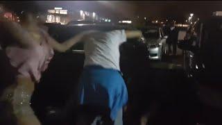 Brutal Girl Fights - Gang Girls Fight In Parking Lot - Epic Girl Fight