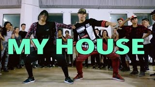 my house flo rida dance   mattsteffanina choreography int hip hop class