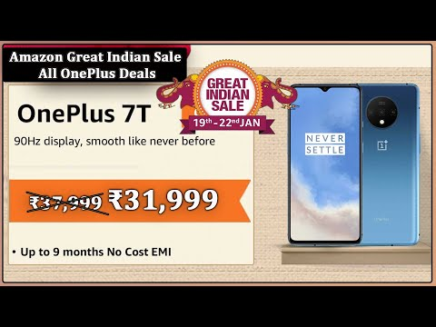 Amazon Great Indian Sale 2020 OnePlus TV In 57000,OnePlus 7T In 31999