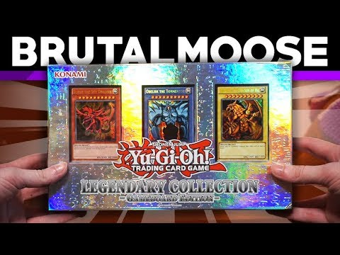 Opening Yu-Gi-Oh! Legendary Collection & Booster Packs