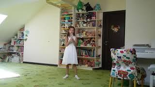 8. М.Парцхаладзе ''Мамина песенка'' - Таисия. Урок вокала, педагог Ирина Коропатнюк.