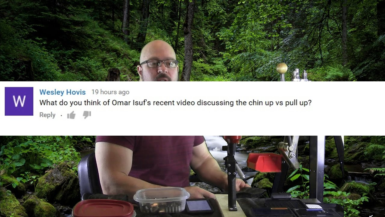 Viewer Asks For My Thoughts On Omar Isuf's Pullup Vs Chinup